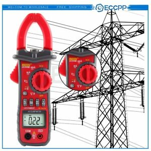 Tools 600a Ac Clamp Meter Rms Ac dc Voltage Multimeter Clampmeter For Ua2008b