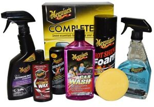 Car Care Gift Pack Meguiar s Complete Auto Interior Exterior Detailing Wax Kit