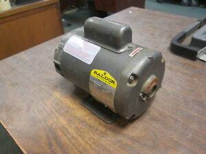 Baldor Ac Motor Fr 48yz 1 4hp 1800rpm 115 230v 4 0 2 0a 1ph Used