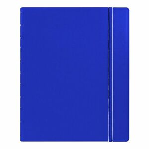 Filofax Classic Notebook Blue Letter Size 10 875 X 8 5 Inches 115103 Ruled