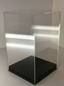 Acrylic Display Box Collectible Display Case Clear Store Display 10 x10 x15