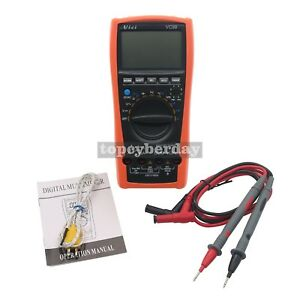 Vici Vc99 3 6 7 Auto Range Digital Multimeter Ammeter Voltmeter Temperature Test