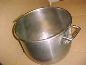 Hobart Oem 30 Qt Genuine Stainless Steel Mixer Bowl Great Condition