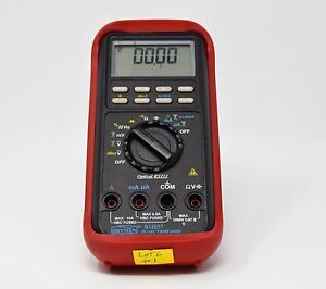 Brymen Bm857 Digital Multimeter Lcd 50000 dc ac True Rms