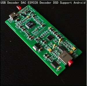 New Usb Decoder Dac Independent Es9028 Decoding Phone Dsd For Android