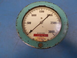 Ashcroft Duragauge Gauge 0 3000 Psi Used