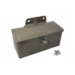 9n Ford Tractor Toolbox With Attached Mounting Bracket 9n 17005 a