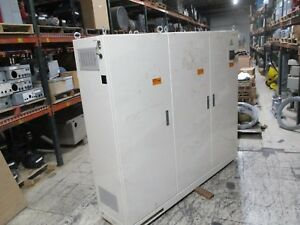 Unbranded 3 door Type 12 Enclosure W Breaker Disconnect 82x67x18 Used