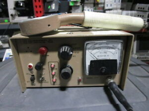Ludlum Model 177 Eberline 260 Geiger Counter Gm Ratemeter Radiation Detector