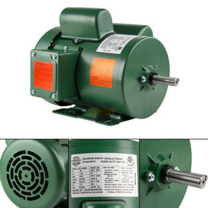 1 5 Hp Single Phase Farm Duty Electric Motor 56h Frame 1800 Rpm Tefc Enclosure