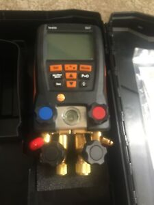 Testo 557 Refrigeration Digital Manifold