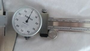 Mitutoyo 12 Inch Analog dial Calipers No 505 645 50 With Case
