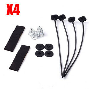4pcs Radiator Fan Mounting Kit Straps Ties Electric Universal Strap Tie Fans