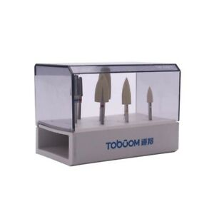 8pcs 1kit Dental High Gloss Polishing Kit For Acrylic Toboom Hp0308d