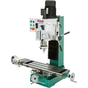 G0761 Heavy duty Benchtop Mill drill With Power Feed And Tapping