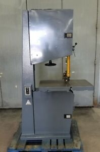 Centauro Vertical Industrial Bandsaw Band Saw Large Table 23 Inch Throat