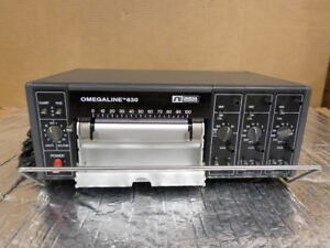 Omegaline 630 3 channel Strip Chart Recorder