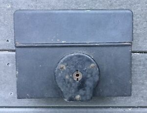 1917 1921 Model T Ford Coil Box W Switch Lid Original Ford Script