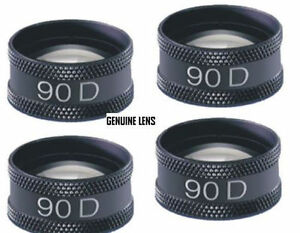Four 90 D Aspheric Lens Ophthalmology And Optometry Equipment Accessories