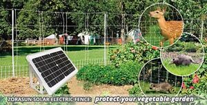 Electric Fence Energizer Solar Dog Horse Cattle Sheep 8 Miles 5 Acres 0 5 Joules