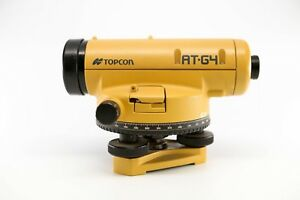 Topcon At g4 Automatic High Accuracy Level With Case And Instructions