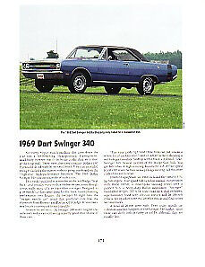 1969 Dodge Dart Article Must See