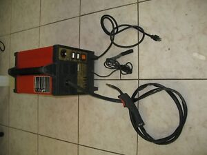 Arcweld Lincoln Electric 120v Handy Mig 101 Flux Cored Wire Feed Welding Machine