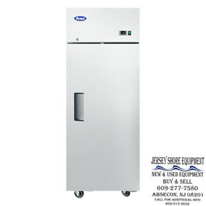 Atosa Mbf8004gr Upright Stainless One 1 door Refridgerator Top Mount warranty