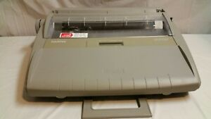 Brother Sx 4000 Portable Daisy Wheel Electronic Dictionary Typewriter
