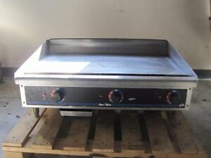 Star Max Electric 36 Countertop Commercial Restaurant Griddle Flat Grill 536tgd