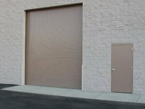 Durosteel Janus 8 Wide By 12 Tall 2000 Series Commercial Roll up Door Direct