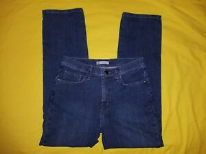 WOMENS LEE CLASSIC FIT JEANS SIZE 8 PETITE STRAIGHT LEG