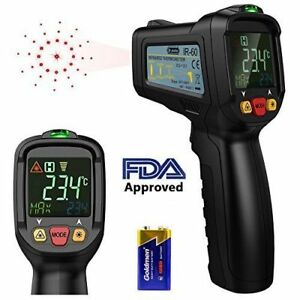 Non contact Digital Laser Ir Infrared Thermometer Temperature Gun 58 1022