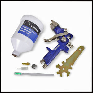 New H 827 Hvlp Gravity Type Air Spray Paint Gun 1 7mm 600cc High Quality