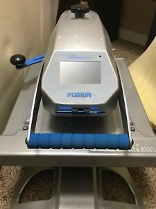 Used Stahls Hotronix Fusion Heat Press Extra Interchangeable Platen