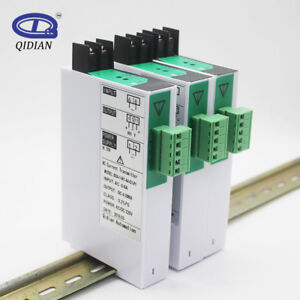 Bsa Ac Current Voltage Transmitter Current Pressure Transducer 4 20ma 1 In 1 Out