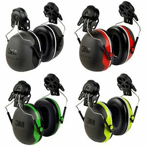 Cap mount Earmuffs Hearing Protection Ear Defenders Shooting Job 5 Style