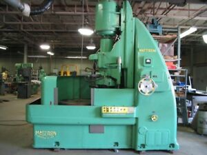 1953 Mattison Rotary Surface Grinder