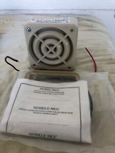 Federal Signal Selectone 24v 50gc Amplified Signal Device Speaker
