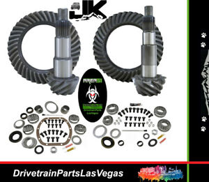 Jeep Wrangler Jk Dana 44 30 Ring Pinion Gear Set Master Kit 4 11 Area51 Gear