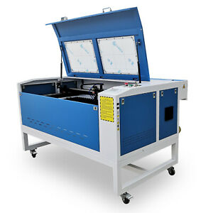 Reci 100w Laser Engraving Cutting Machine 900 600mm Motorized Up And Down