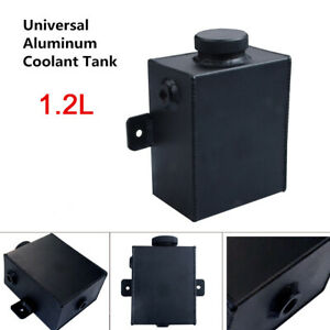 1 2l Universal Aluminum Radiator Overflow Expansion Water Coolant Tank