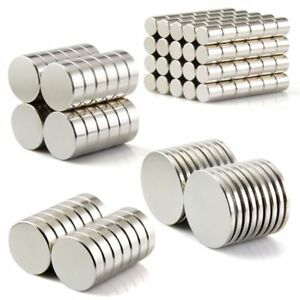 100pc Super Strong Round Disc Magnets Rare earth Neodymium Cylinder Magnet Kit