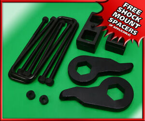 95 99 Chevy Tahoe 1500 4x4 Adj 1 3 F 1 5 R Forged Steel Leveling Lift Kit