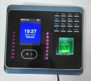 Zkteco Wifi Uf100plus Face Fingerprint Time Attendance With Free Software