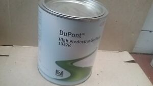 Dupont 2k Primer Surfacer 1057r 3 5 Litre Black Vs7 High Productive Filler