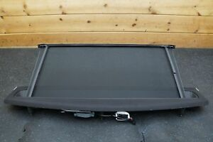 Rear Sun Shade Blind Assembly Black 3w5861325c Bentley Continental Flying Spur