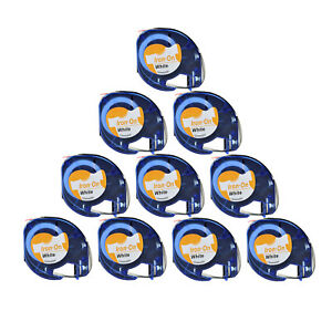 10pk Lt 18771 Iron on Fabric Label For Dymo Letratag Letratag Qx50 Label Maker