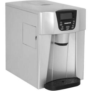 Igloo Countertop Ice And Water Dispenser Silver Ice227
