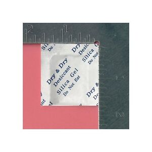 1 Gram X 5 000 Ea High Quality Silica Gel Packets Reusable fda Compliant